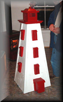Wooden LighthousesCedar LighthousesLighthouseLawn Lighthouse