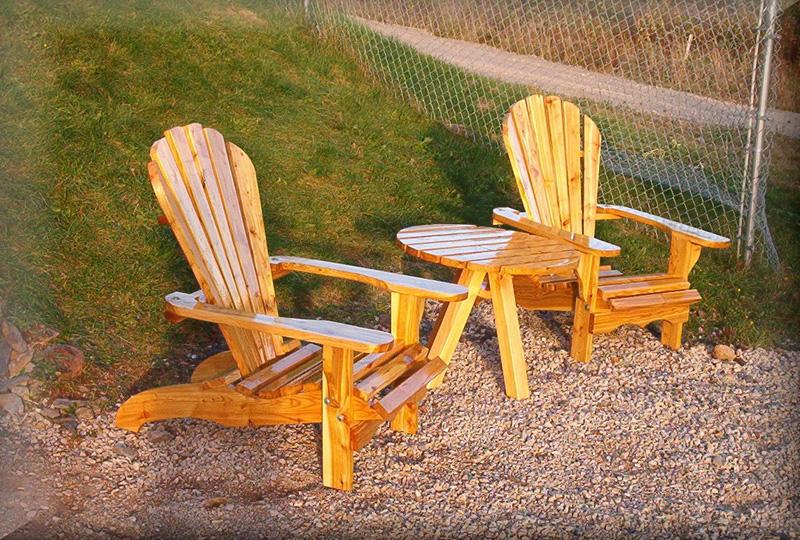 Tamarack Outdoor Furniture Juniper Adirondack Chair