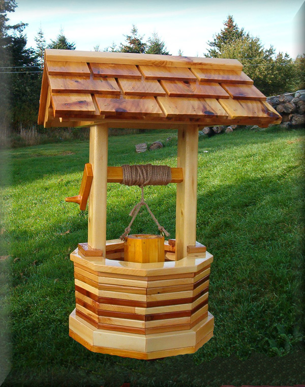 Unique Wood Products Cedar Mailboxes Lighthouse