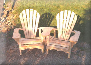 Tamarack Furniture Adirondack Rocker Chair Tete E Settee